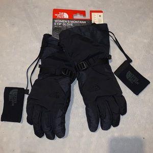 NEW North Face Montana E-Tip Ski Gloves